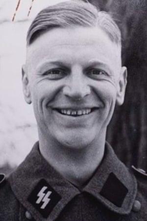 Pieter Schelte Heerema in his SS uniform