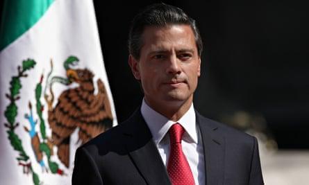 Mexico's president, Enrique Peña Nieto.