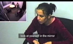 Banaz Mahmod - the young British Kurdish woman pictured at a police station where she tried five times to get help over threats being made against her. Banaz was murdered on the orders of her father and uncles in 2006. Khan's documentary won an Emmy in 2013.