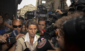 Alberto Nisman's ex-wife, Sandra Arroyo Salgado