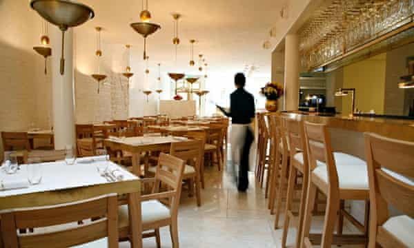 Nopi restaurant in Soho