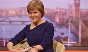 Nicola Sturgeon on the Andrew Marr Show