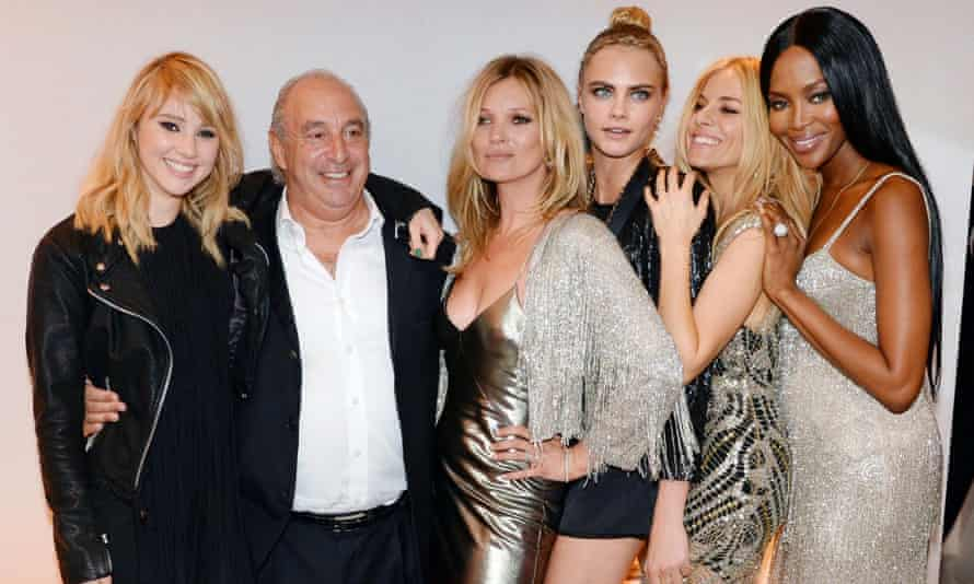 Sir Philip Green, who has focusing on the ewpansion of Topshop, has put the loss-making BHS chain up for sale.