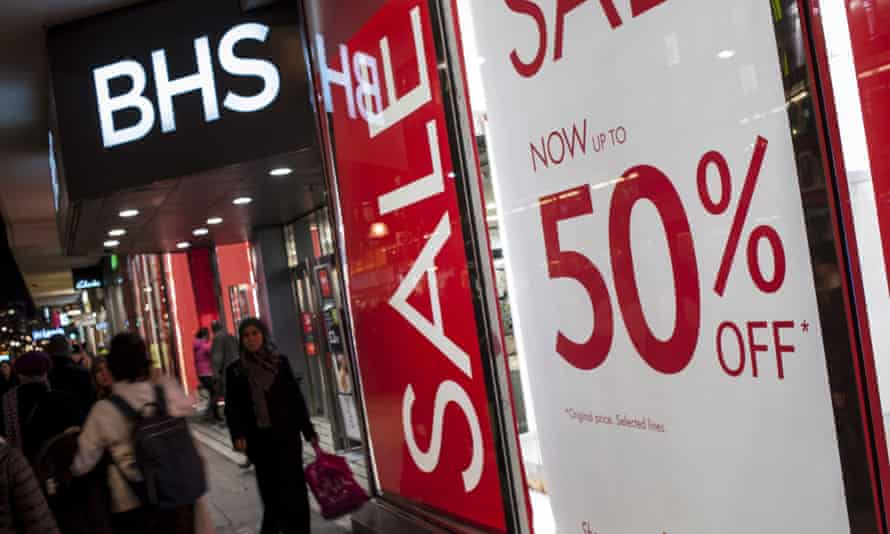 BHS has cut annual looses to £70m.
