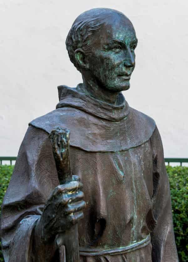 A statue of Father Serra