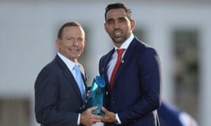 Tony Abbott Adam Goodes
