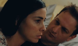 Say cheese …Sarah Silverman and Josh Charles in I Smile Back.