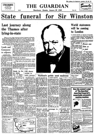 The Guardian 25 January 1965