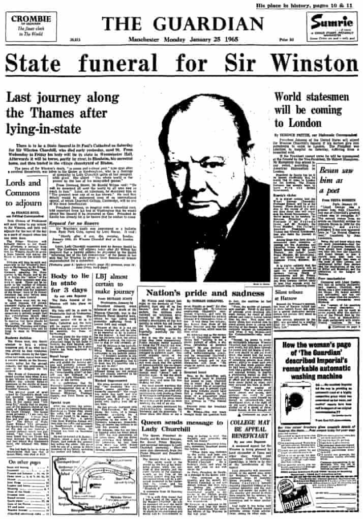 The Guardian 25 January 1965