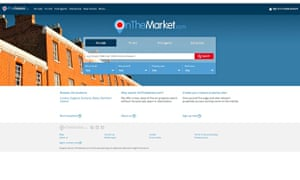 onthemarket property site