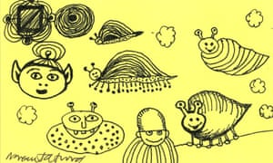 Margaret Atwood's doodle