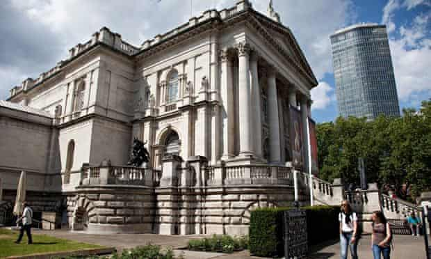 The Tate Britain gallery in London.