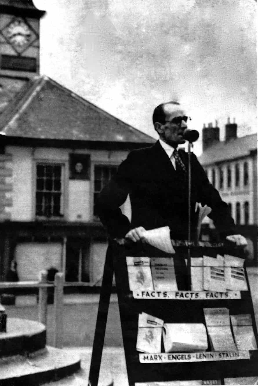 Barry Norman's communist grandfather, Isaac Norman, known as Red Ike, speaking outside Carlisle town hall.