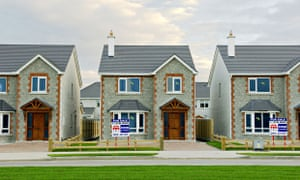 New detached family homes