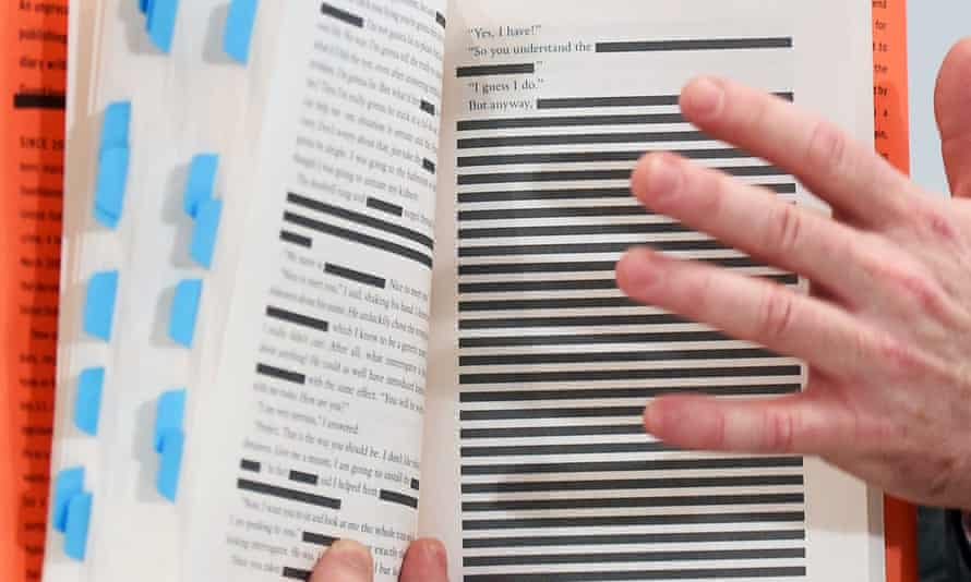 Redacted passages of Guantánamo Diary.