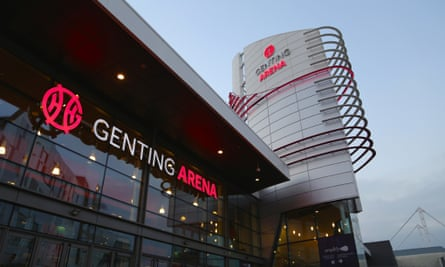 Revamped ... Genting Arena.