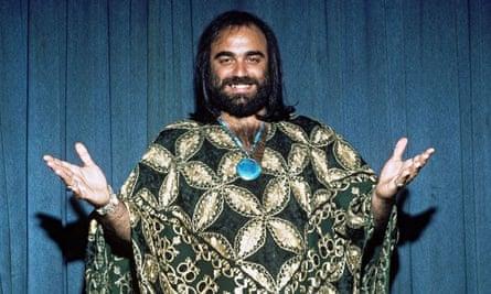 Demis Roussos in 1976.