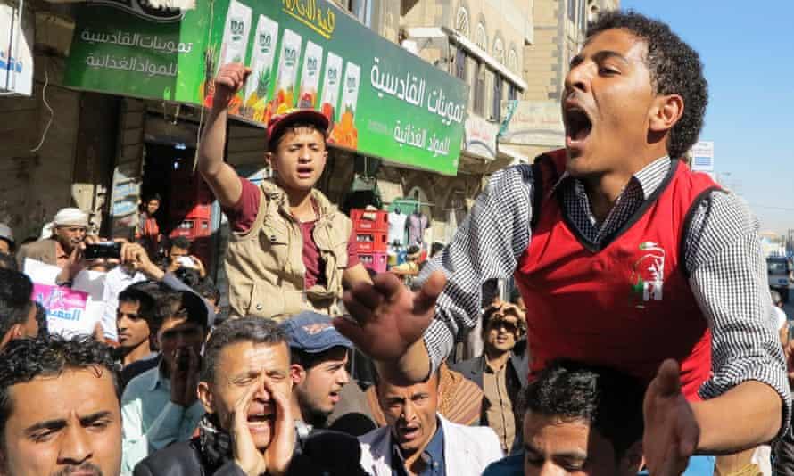 yemen protest sanaa
