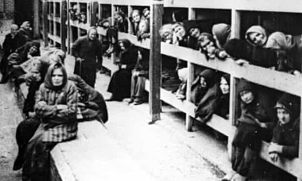 Auschwitz-Birkenau women's barrack