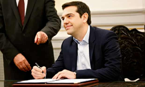 Alexis Tsipras, Greece's new prime minister