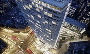 An artist's impression of the new Centre Point site when work is completed in 2017.