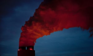 Coal-fired power plant in the American south