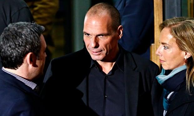 Greek economist Yanis Varoufakis
