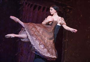 Natalia Osipova (Tatiana) in Onegin by The Royal Ballet at The Royal Opera House