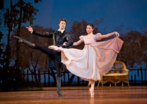Natalia Osipova (Tatiana) and Matthew Golding (Onegin) in Onegin