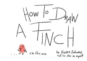 how to draw a finch 1