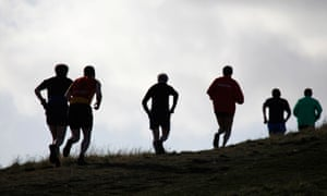 Running in Scotland …