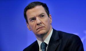 The Chancellor, George Osborne.