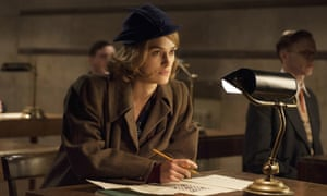Keira Knightley in The Imitation Game.