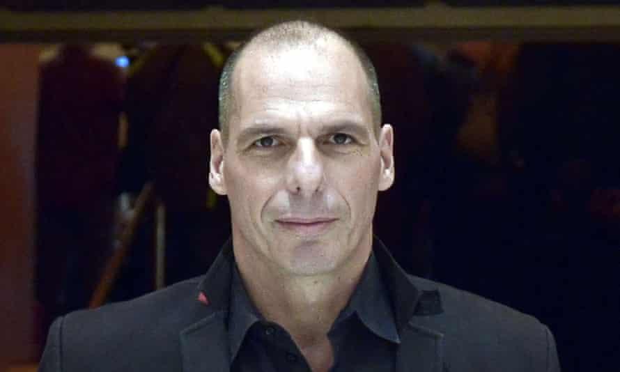 Greek Australian economist Yannis Varoufakis