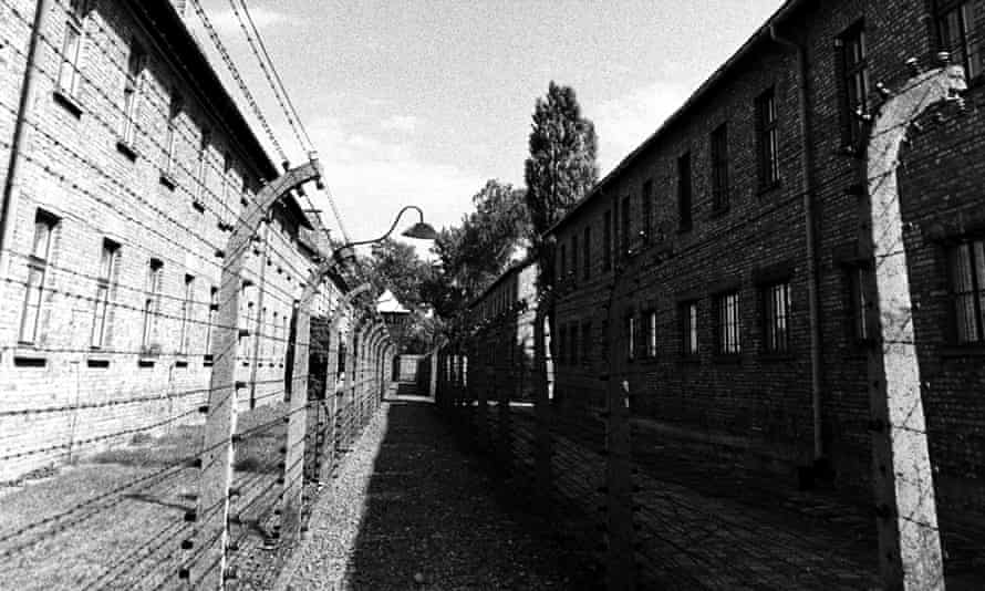 The perimeter fence at Auschwitz Concentration Camp.