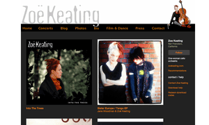 Zöe Keating's Bandcamp site.