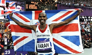 Mo Farah wins gold 2012 London Olympic Games