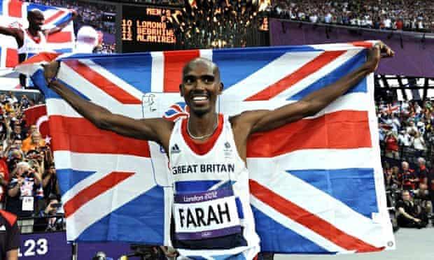 Mo Farah wins gold 2012 London Olympic Games