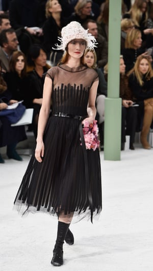 Chanel's 2015 haute couture spring/summer show for Paris fashion week.