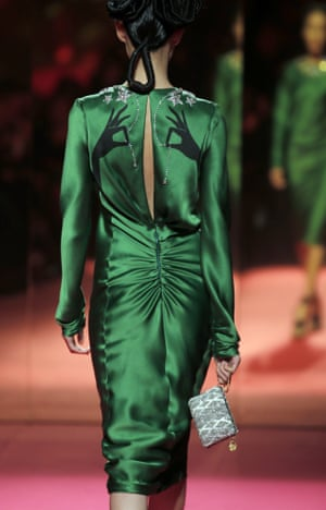 Schiaparelli's 2015 haute couture spring/summer show for Paris fashion week.