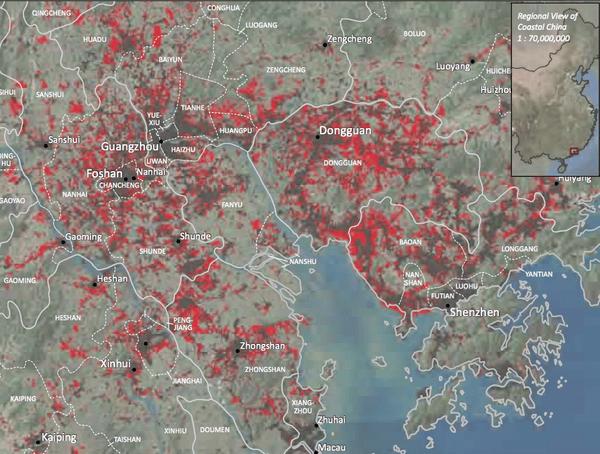 Urbanisation in the Pearl River Delta
