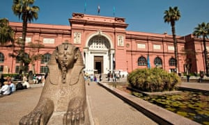 The Egyptian Museum houses one of the world's best collections of pharaonic artefacts.
