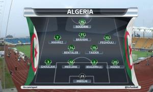 Algeria team to play Senegal