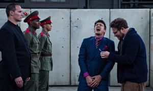 The Interview comedy film with Seth Rogan and James Franco