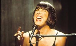 Eve Ensler performing The Vagina Monologues