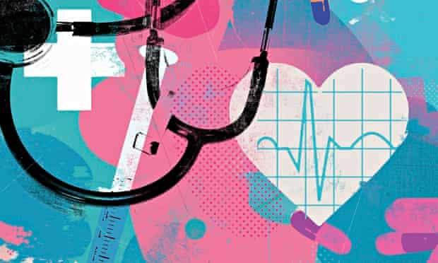 Healthcare and medicine collage