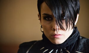 noomi rapace lisbeth salander girl with the dragon tattoo