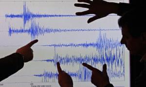 British Geological Survey earthquake