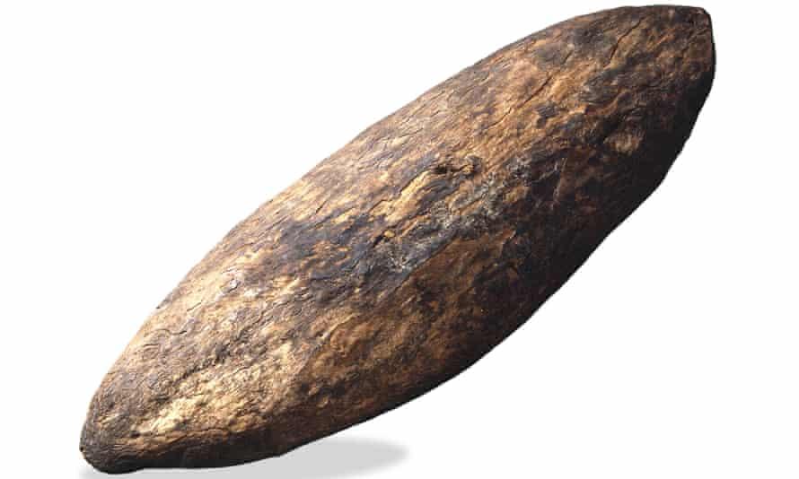 Aboriginal wooden shield