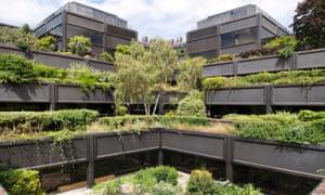 Modernist Angkor Wat … 'hanging gardens of Basingstoke' Gateway House listed office building